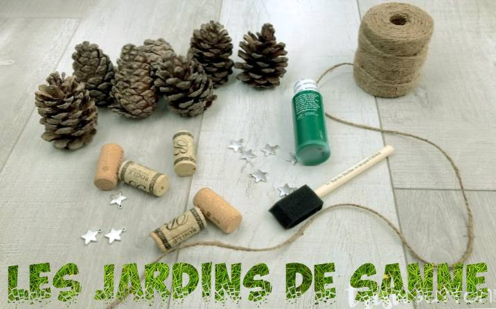 DIY Pinecone Garland Decorations: Oprettelse af Garland With Pinecones